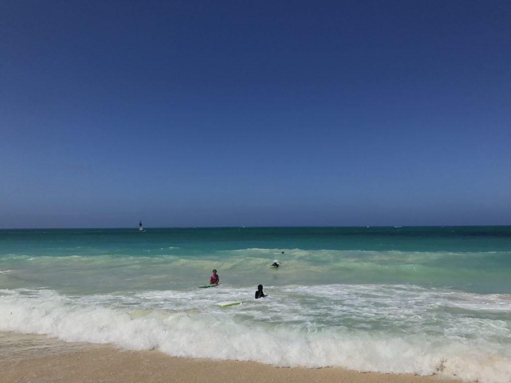 HAWAII OAHU WAIMANALO BEACH
