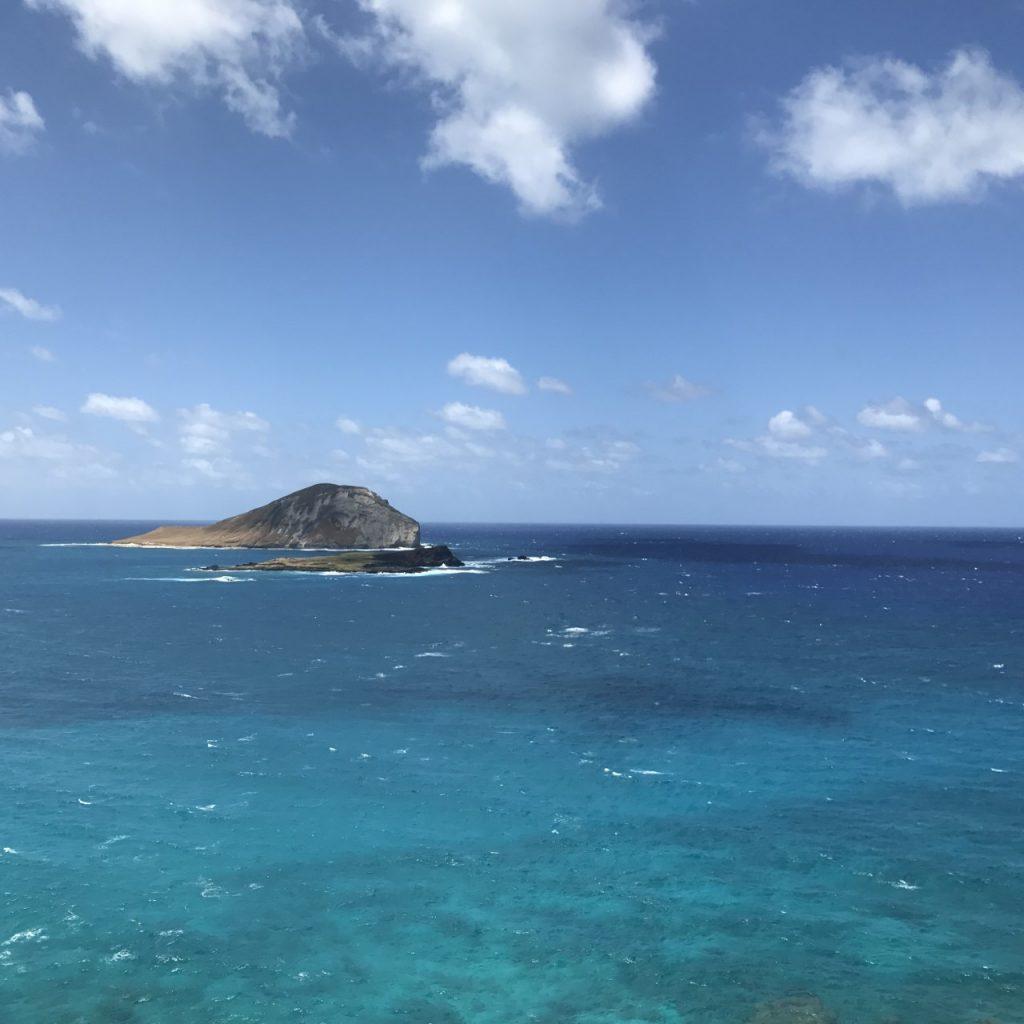 OAHU HAWAII MAKAPU'U LOOKOUT ISLAND - SOUTHSHORE