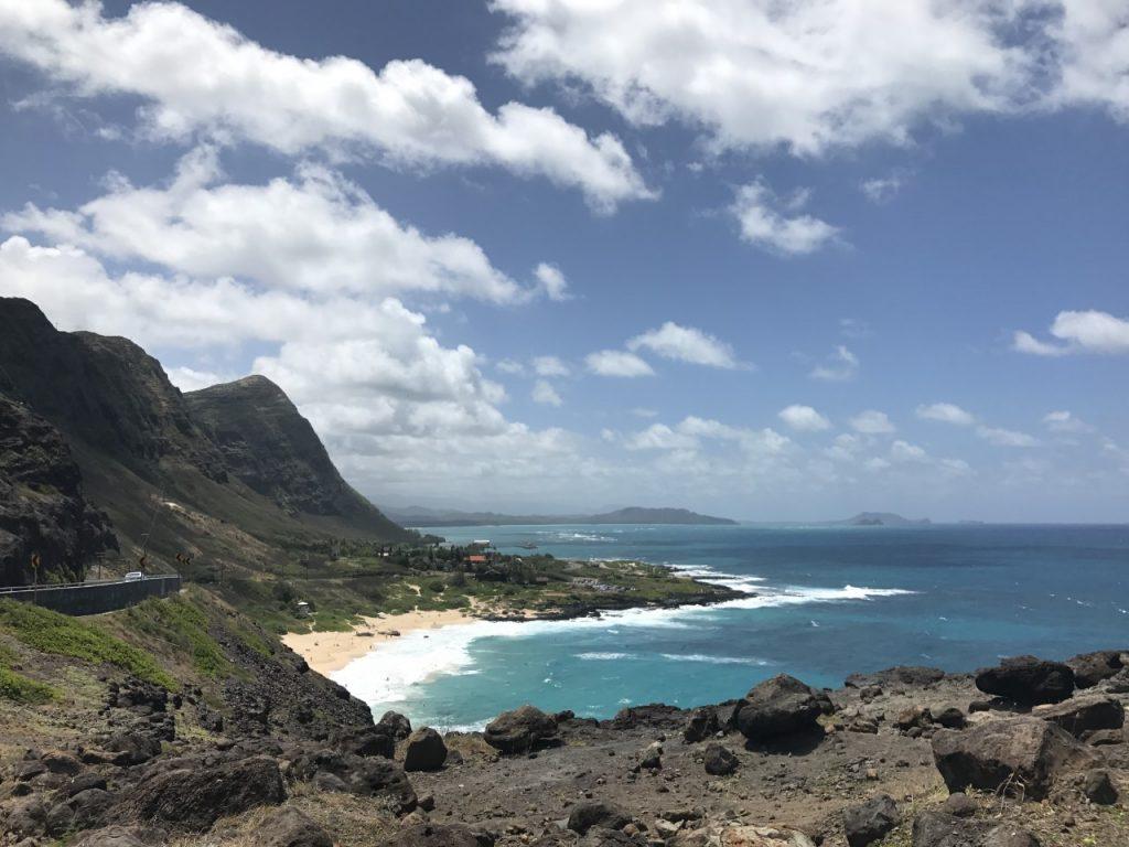 OAHU HAWAII MAKAPU'U LOOKOUT - SOUTHSHORE