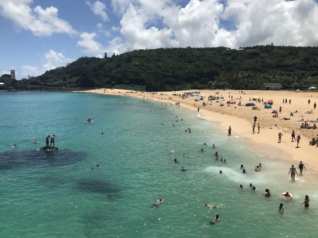 Plage de Waimea Bay