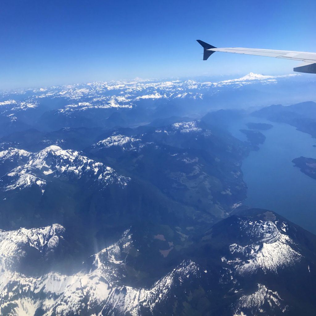 VANCOUVER HAWAII - Rockies from the sky- Les rocheuses vues du ciel