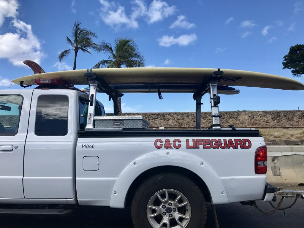 comme un local pick up truck hawaiien