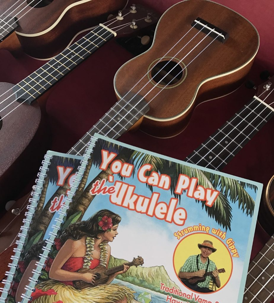 comme un local ukulele hawaii