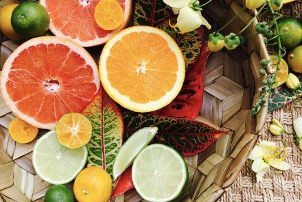 hawaii 50 shades citrus flatlay