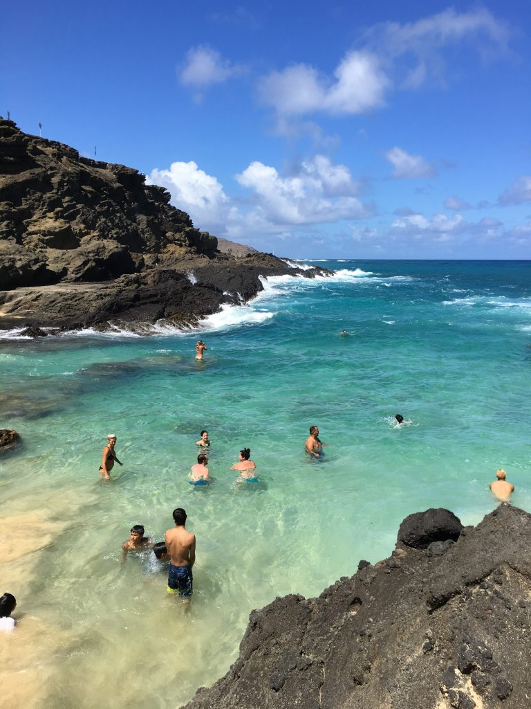 hawaii eternity beach pristine water