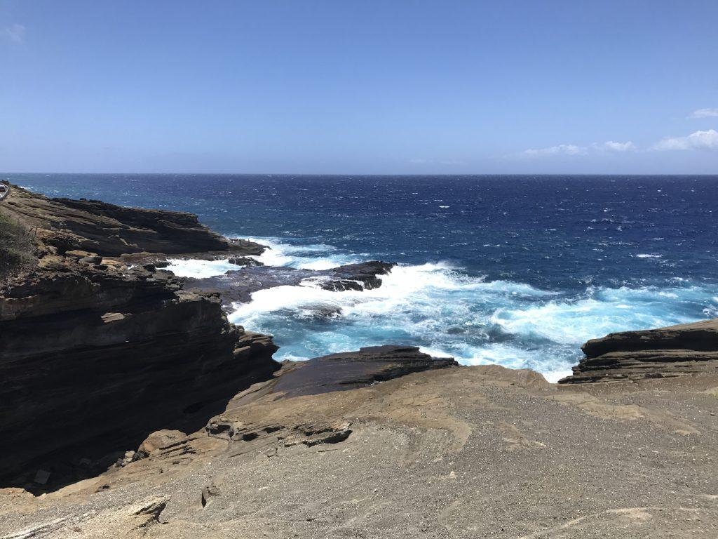 hawaii blues cote rochers marins