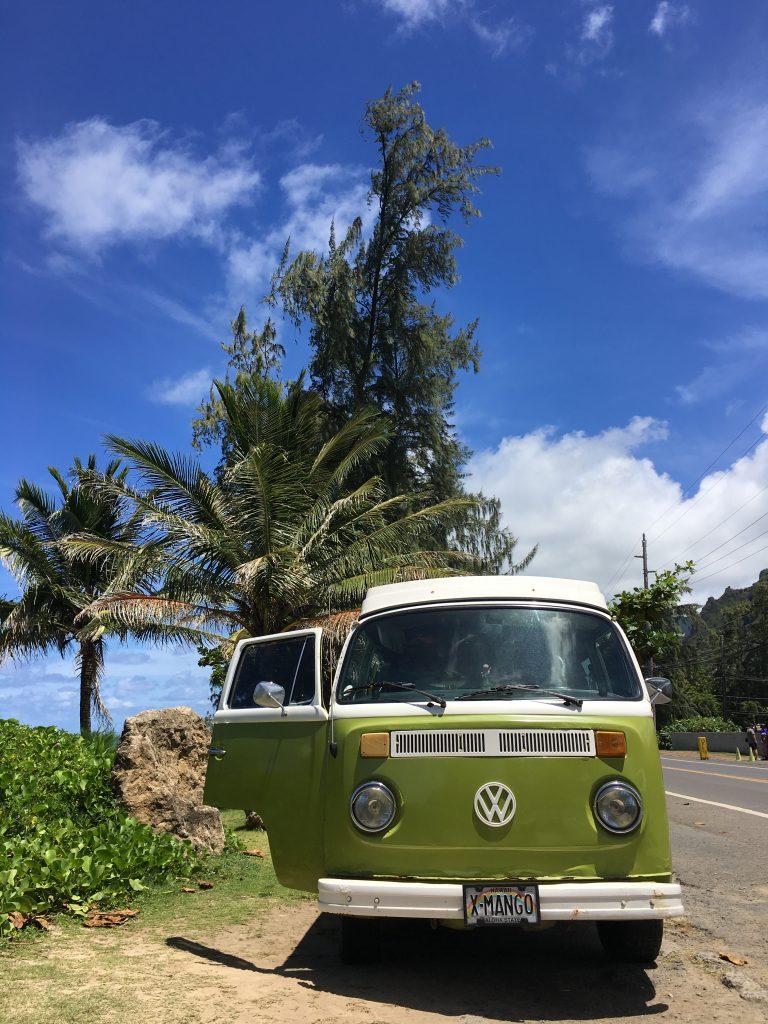hawaii blues volkswagen van