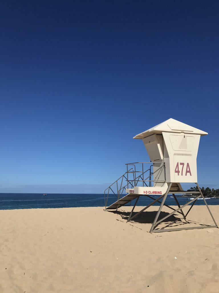 Hawaii blues ciel bleu sans nuages