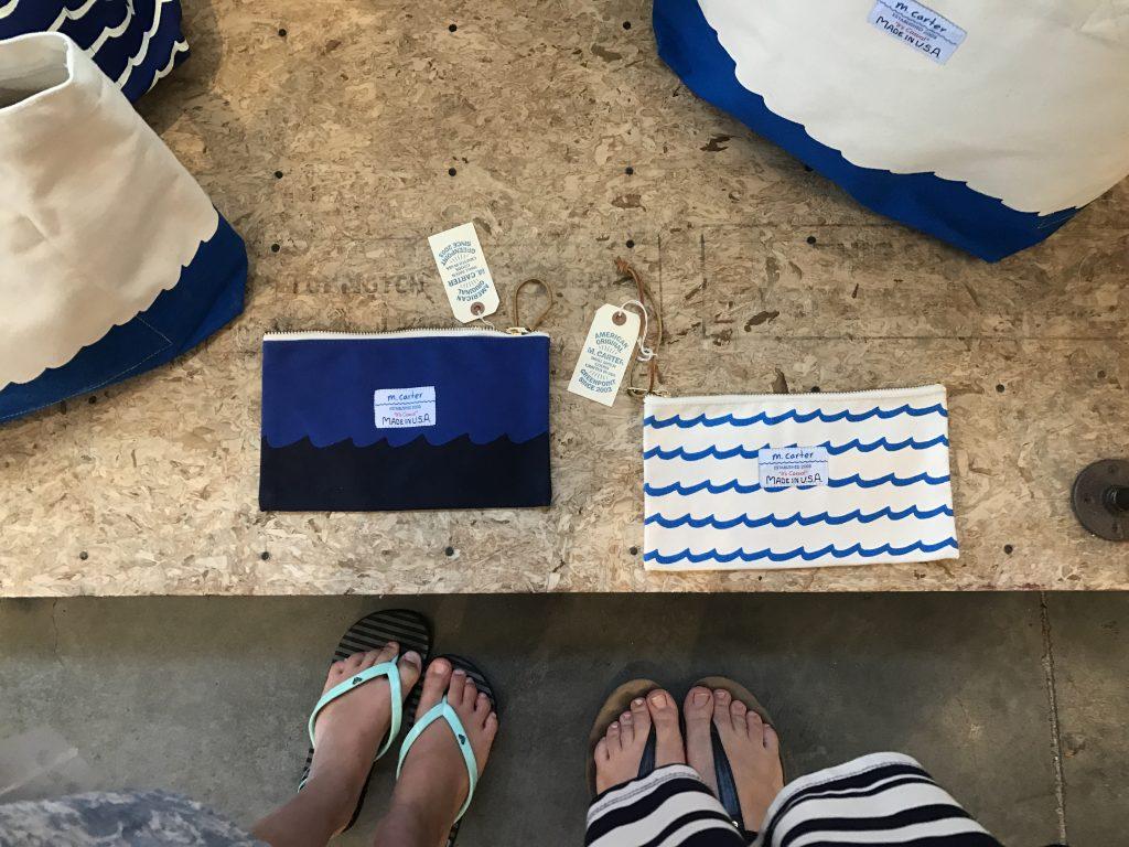 Hawaii Blues purse etuis
