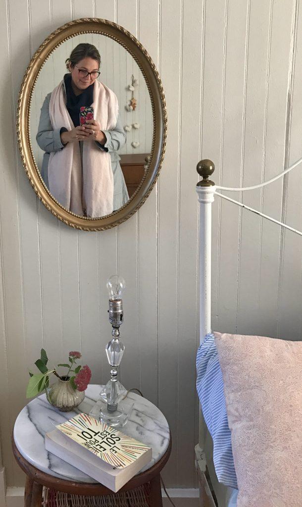 miroir réflection Kamouraska